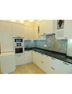 Фото 3.Кухня с фасадами МДФ белый и ДСП Egger белый альпийский