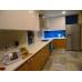 2.Кухня с фасадами REHAU Brilliant Bianco и ДСП Egger Дуб Гамильтон натуральный