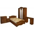 Цельные  спальни
