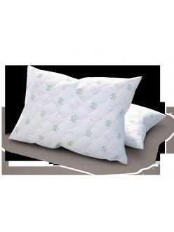 Подушка Bamboo-чехол стёганый хлопок (50х70 см)